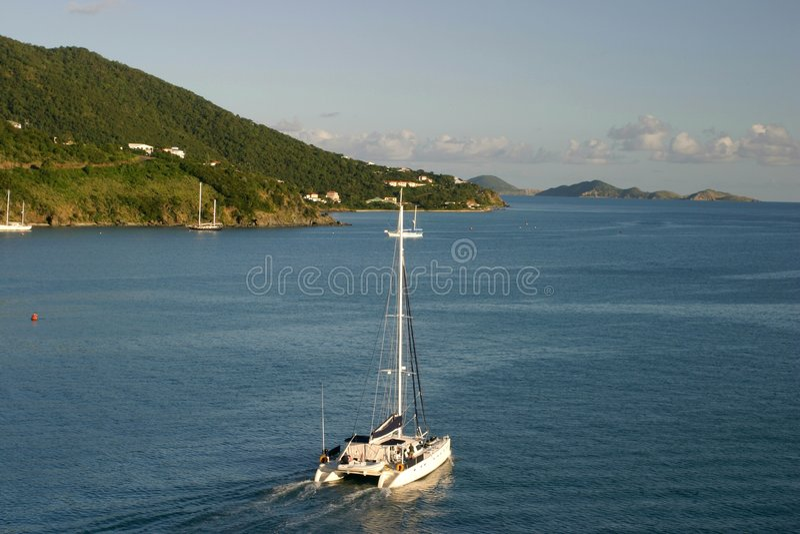 Catamaran stock fotografie