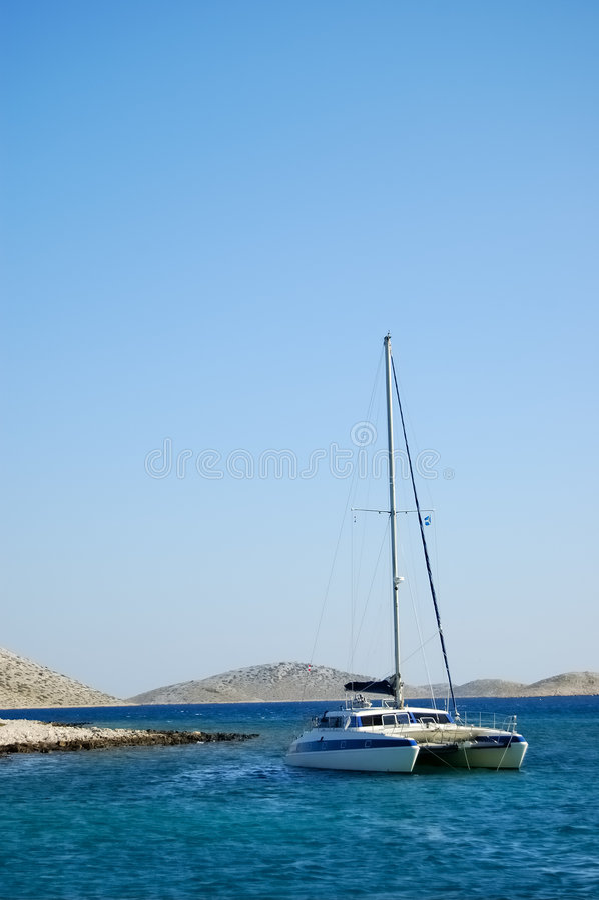 Download Catamaran Royalty Free Stock Images - Image: 1402889