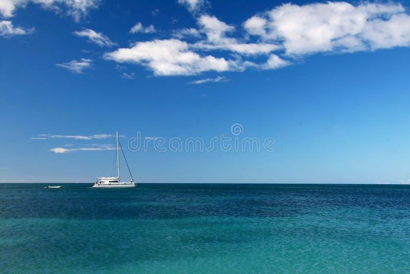 Catamaran royalty-vrije stock afbeelding