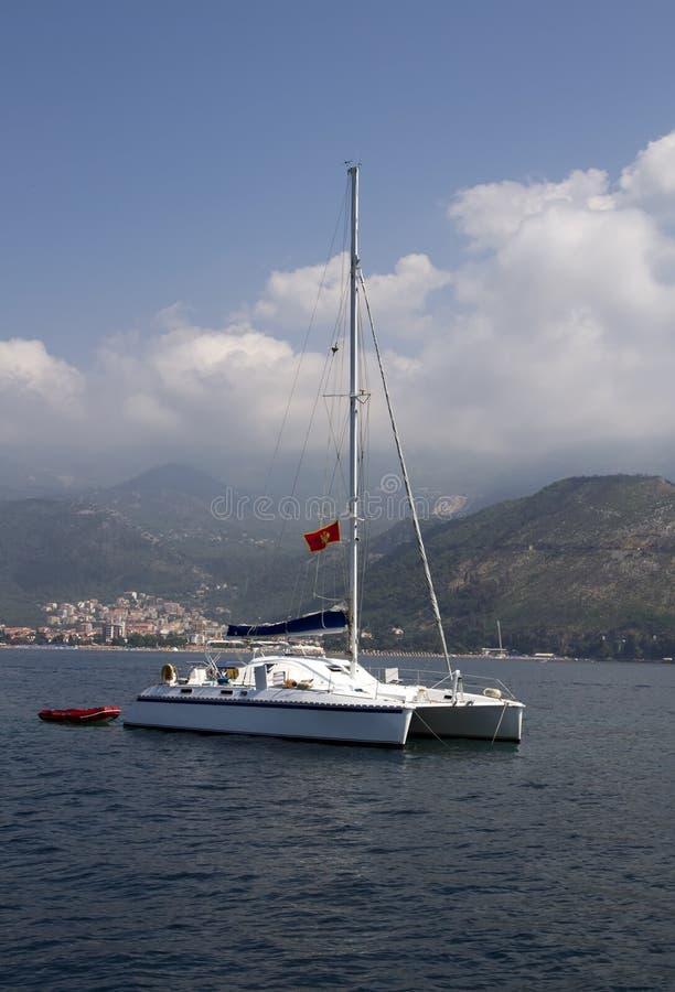 Download Catamaran stock image. Image of holiday, cruisers, relaxer - 25977791