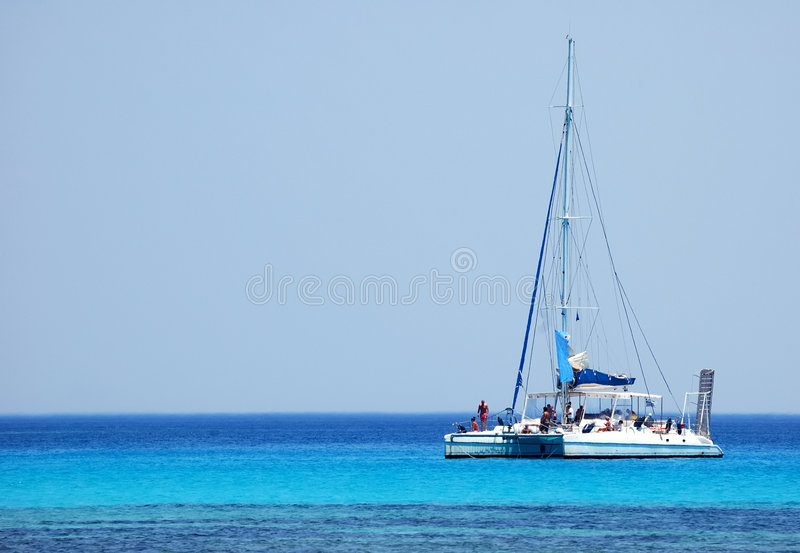 Catamaran photographie stock libre de droits
