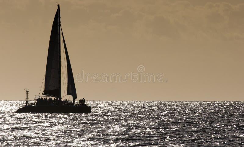 Catamaran royalty-vrije stock afbeeldingen