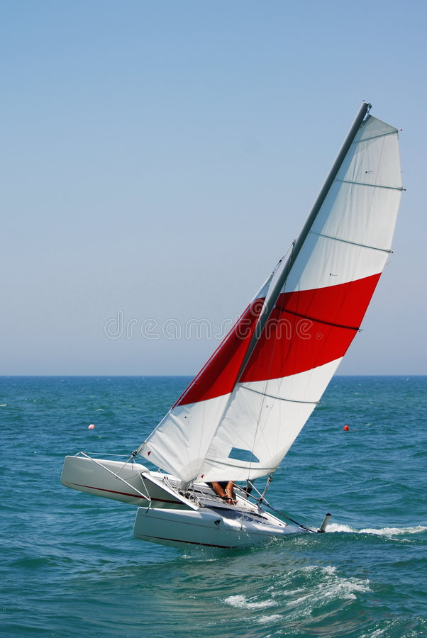 Catamaran photographie stock libre de droits