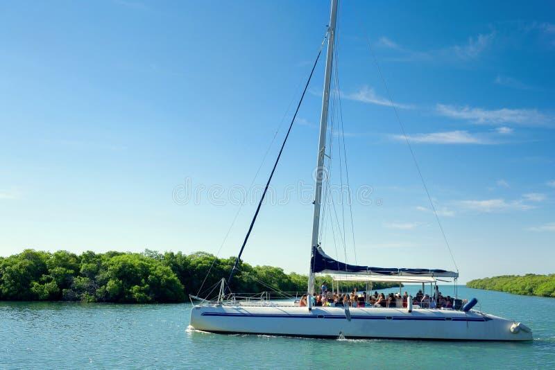 Catamaran, Cuba, Varadero stock images