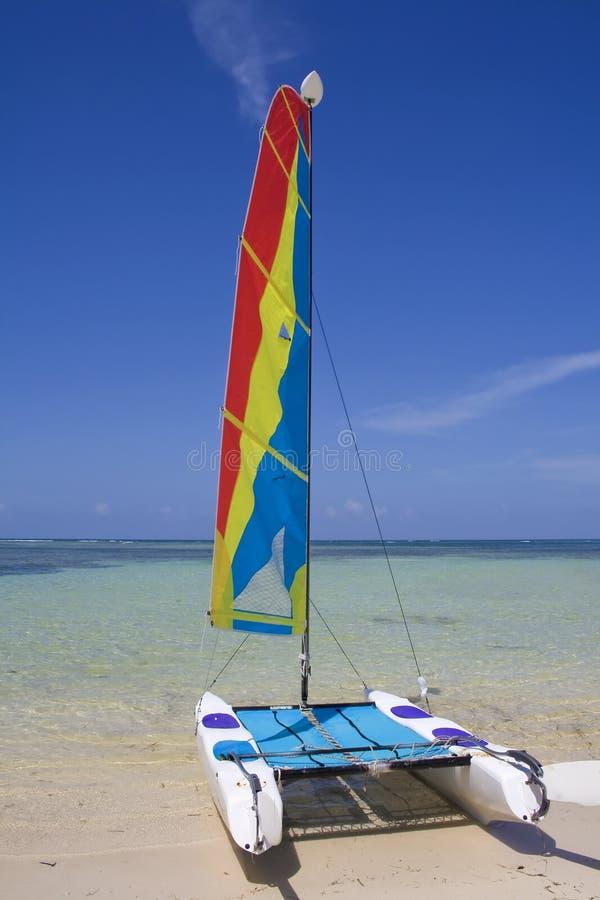 Catamaran - Dominicana stock foto