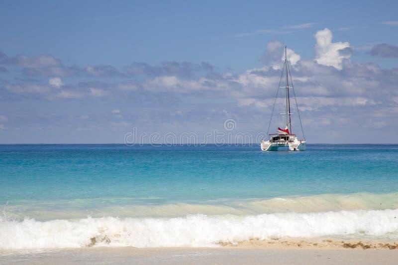 Catamaran raj obraz royalty free