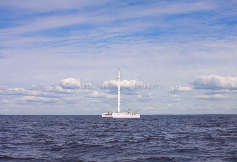 Download Catamaran in the sea stock photo. Image of lake, catamaran - 25924232