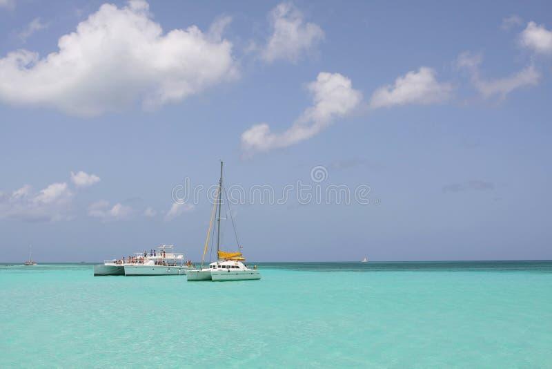 Catamarano fotografie stock