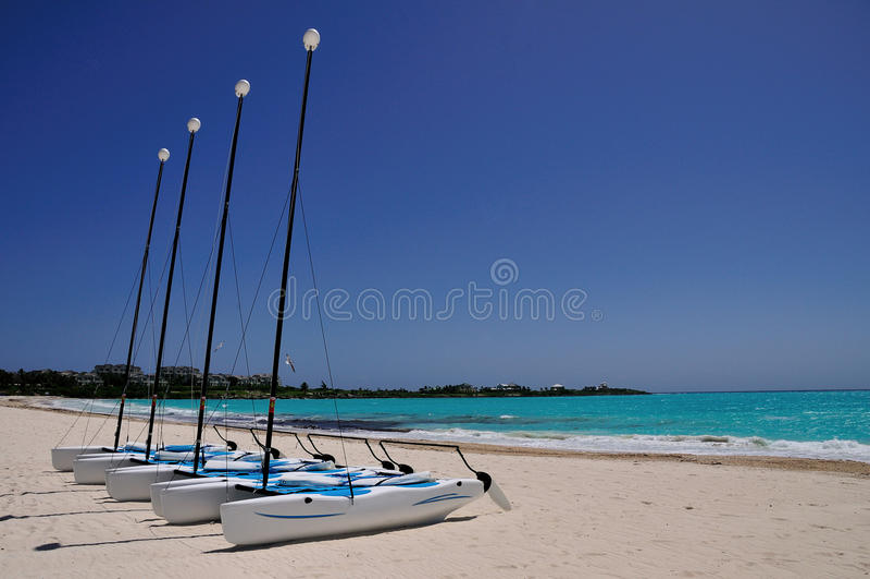 Download Catamarans stock image. Image of empty, ocean, relax - 17615615