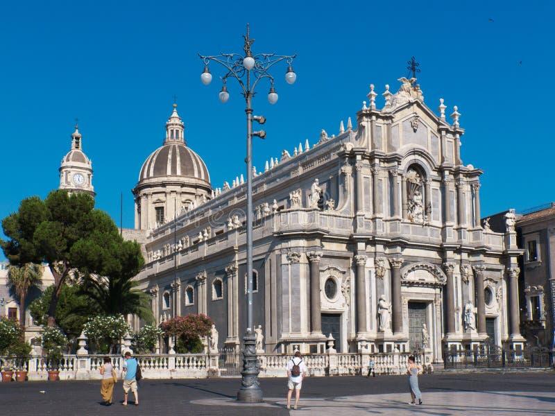 Catania imagem de stock royalty free
