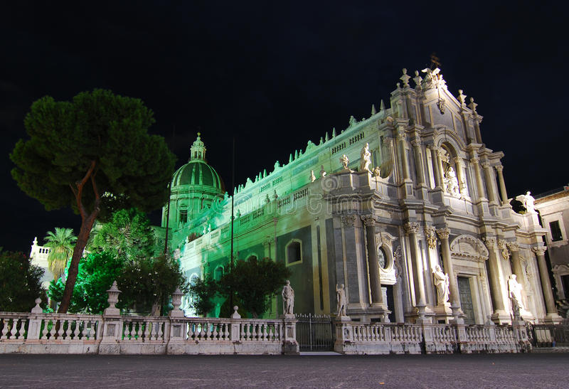 Catania Cathedral / Sicily stock images