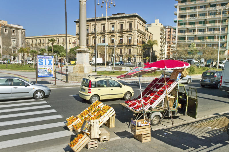 Download Catania city, Italy. editorial stock image. Image of fruit - 39661144