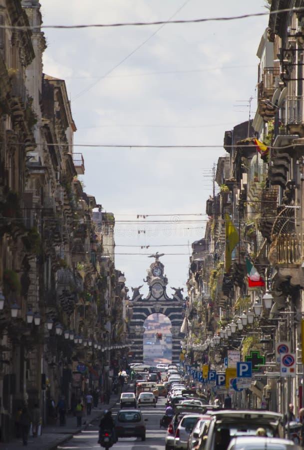Catania, Italy stock photography