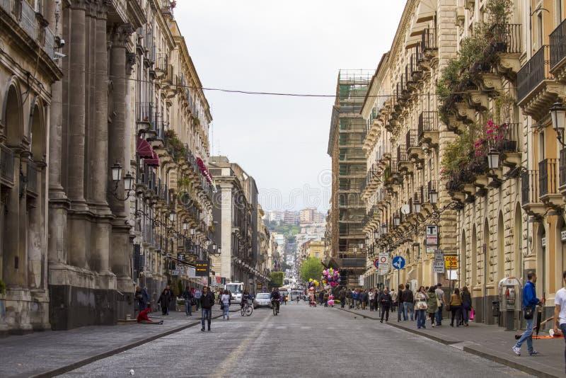 Catania, Italy stock photo