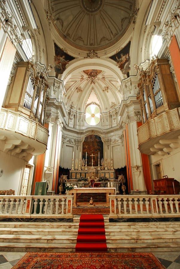 Catania-Kathedrale in Sizilien lizenzfreie stockfotos