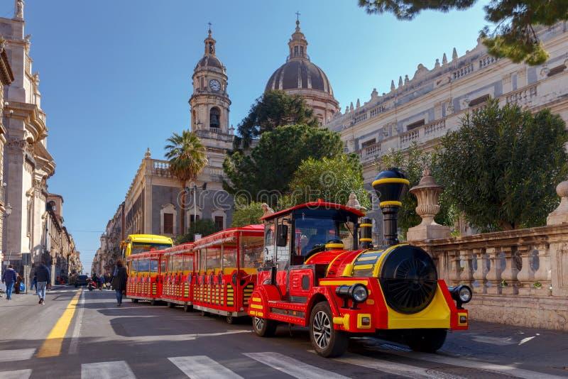 Catania Kathedrale von St. Agatha lizenzfreies stockbild