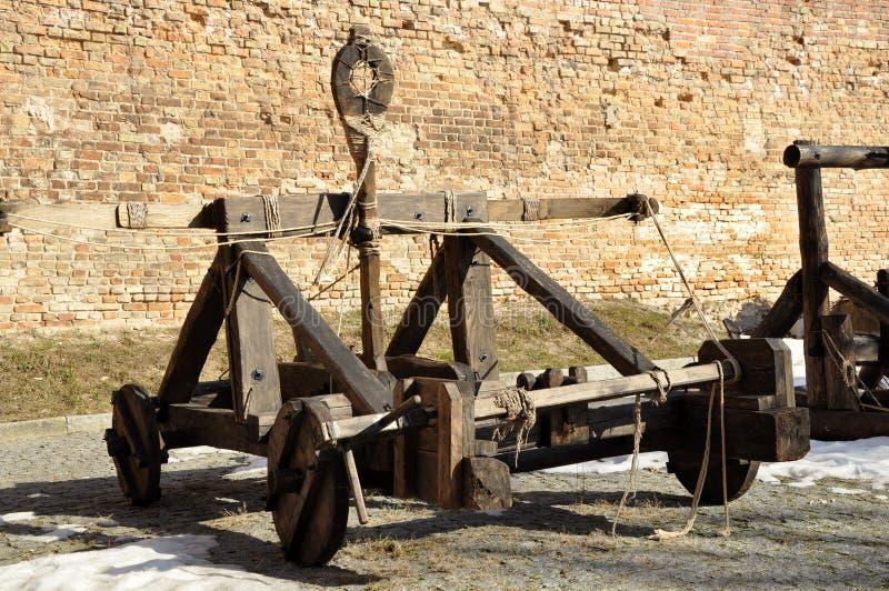 Catapulte antique photos libres de droits