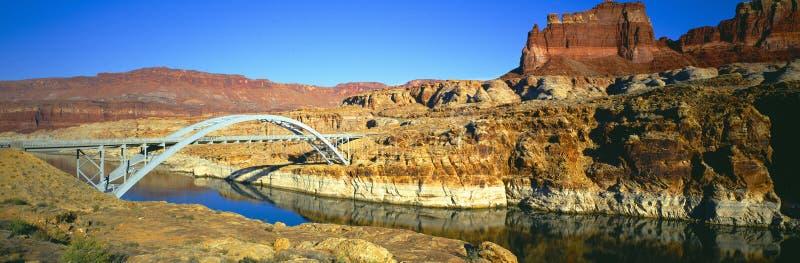 Cataract Canyon Bridge Stock Photography