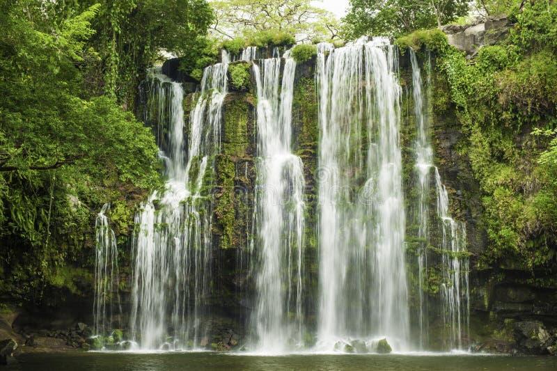 Catarata Llanos de Cortez Waterfall imagens de stock royalty free