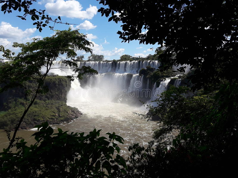 Cataratas del Iguazú imagem de stock royalty free