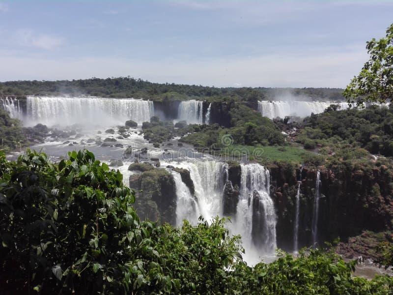 Cataratas del IguazAoº 免版税库存图片