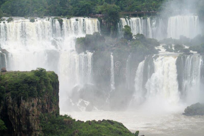 Cataratas del Iguazu, водопад Iguassu стоковое изображение rf