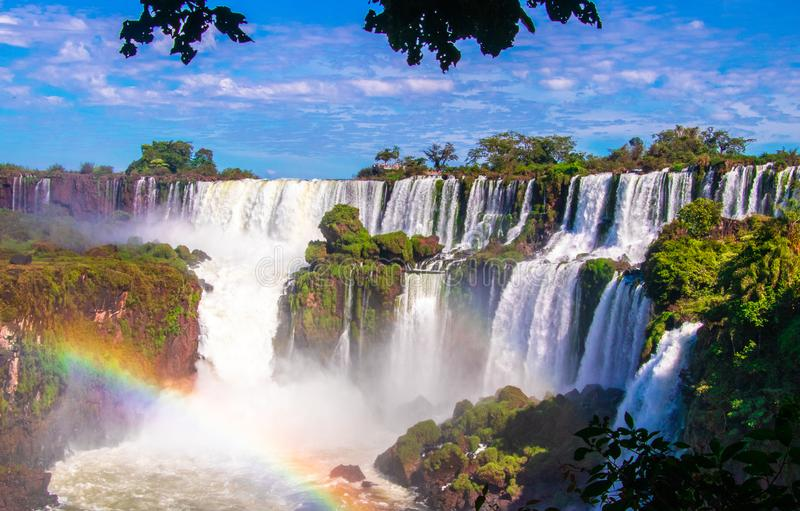 Cataratas del Iguazu photographie stock libre de droits