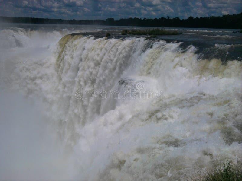 Garganta del diablo, Cataratas del Iguazu, Argentina royalty free stock photography