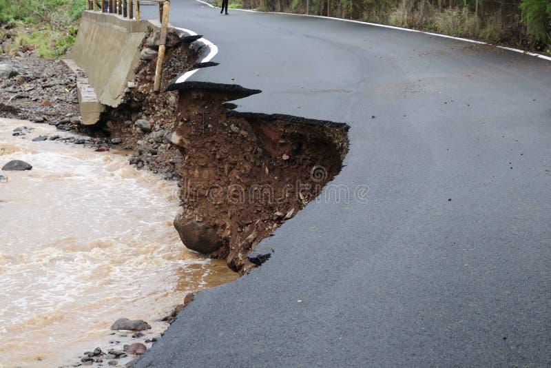 Catastrofe naturale fotografia stock
