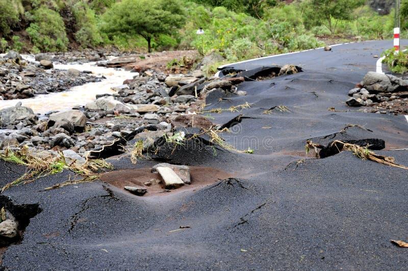 Catastrofe naturale fotografia stock libera da diritti