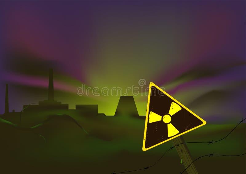 Catastrophe écologique illustration stock