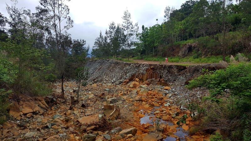 Catastrophe naturelle photographie stock