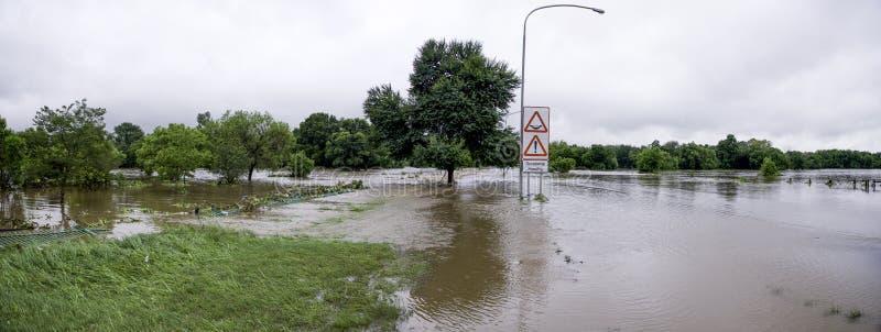 Catastrophe naturelle en Afrique du Sud photographie stock libre de droits