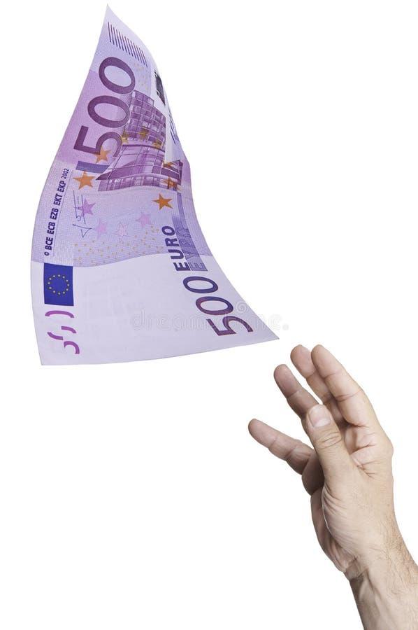 Catch Money Stock Image