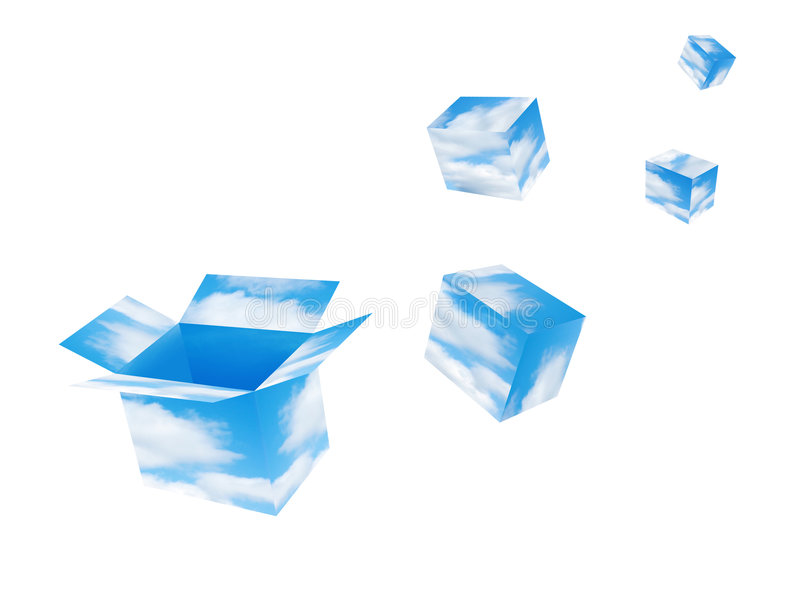 Download Catch your dream stock photo. Image of boxes, heaven, cloud - 863480