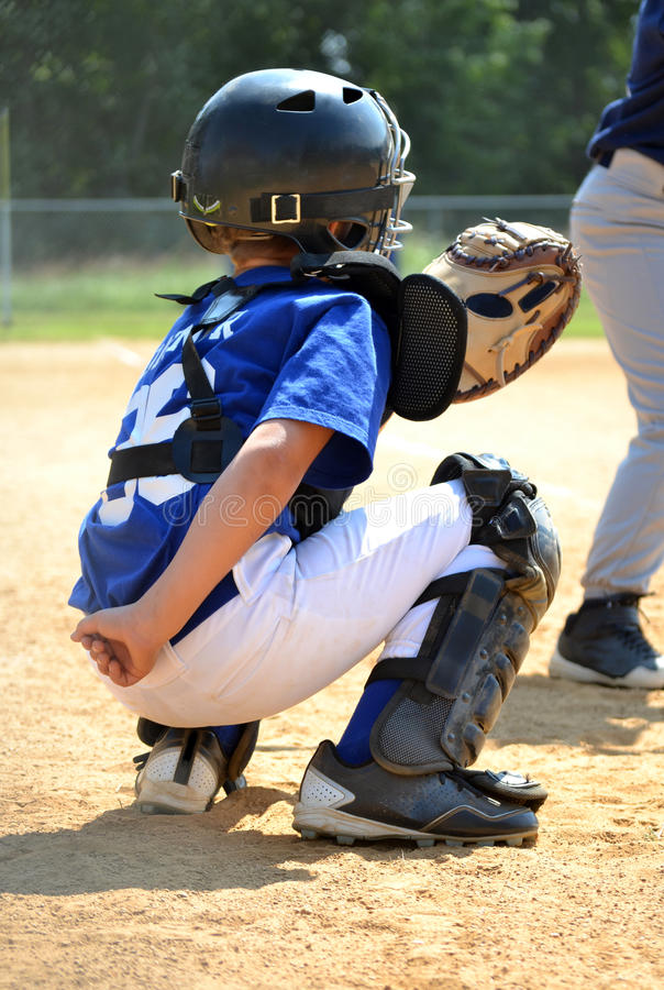 Download Catcher Position stock image. Image of sports, athlete - 30707119
