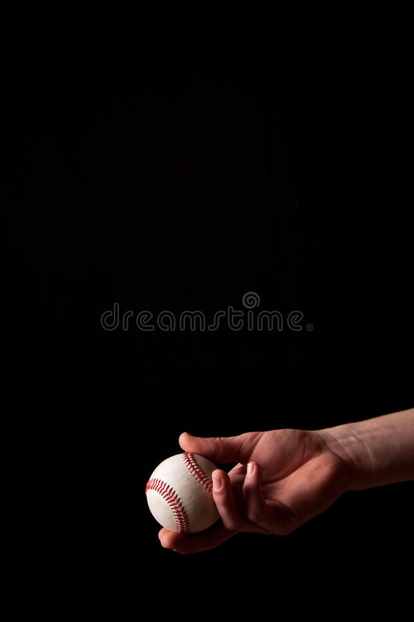 Catching a Baseball royalty free stock images