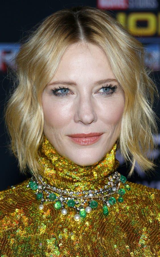 Cate Blanchett imagens de stock royalty free