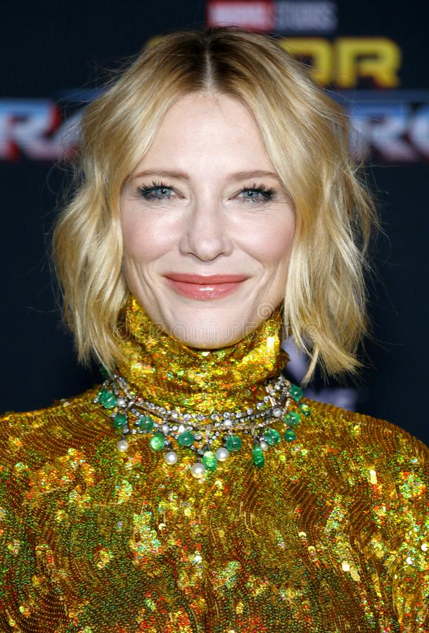 Cate Blanchett stock afbeeldingen