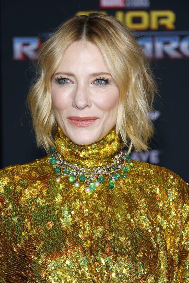 Cate Blanchett royalty-vrije stock afbeeldingen