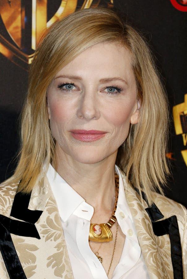 Cate Blanchett royalty-vrije stock foto's