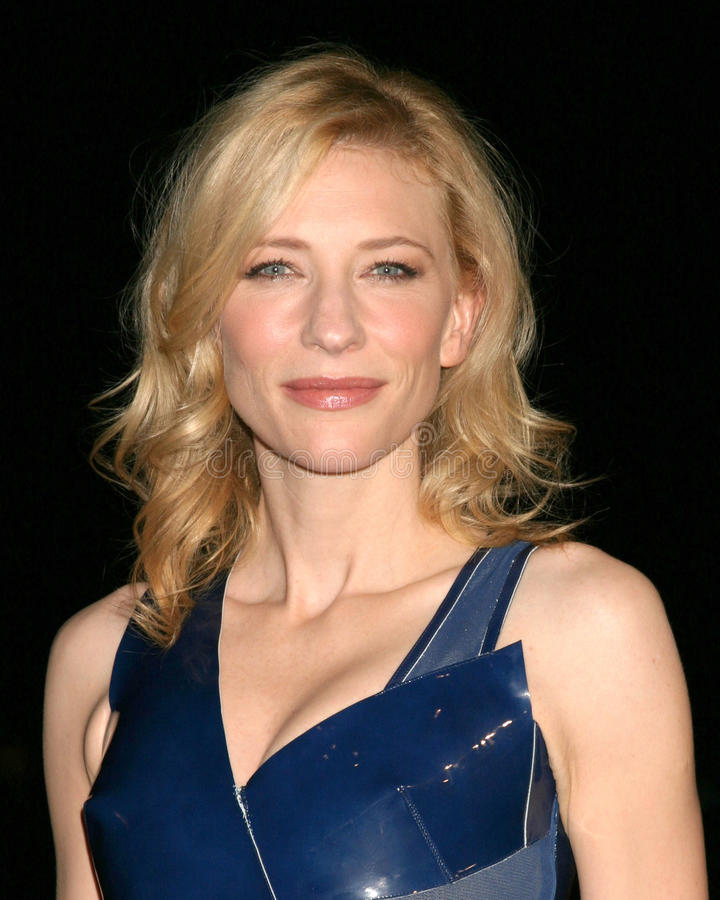 Cate Blanchett stock photography