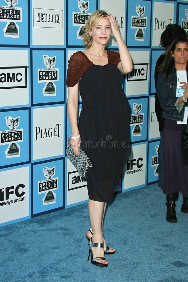 Cate Blanchett imagem de stock