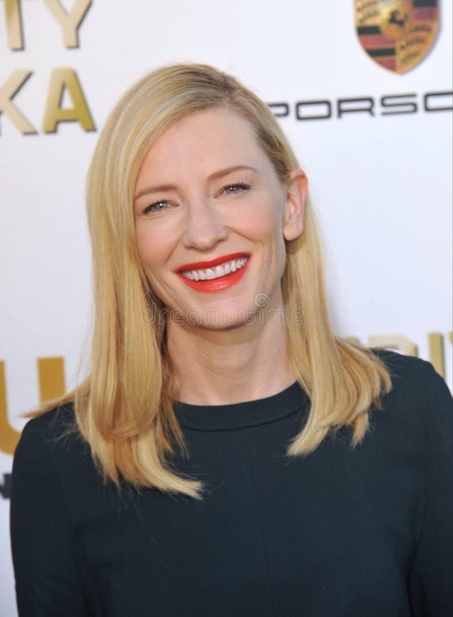 Cate Blanchett 免版税图库摄影