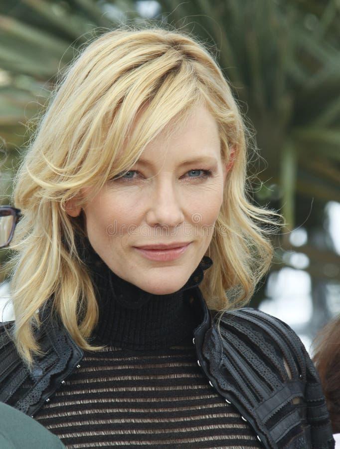 Cate Blanchett royalty-vrije stock fotografie
