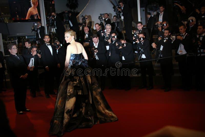 Cate Blanchett royaltyfri fotografi