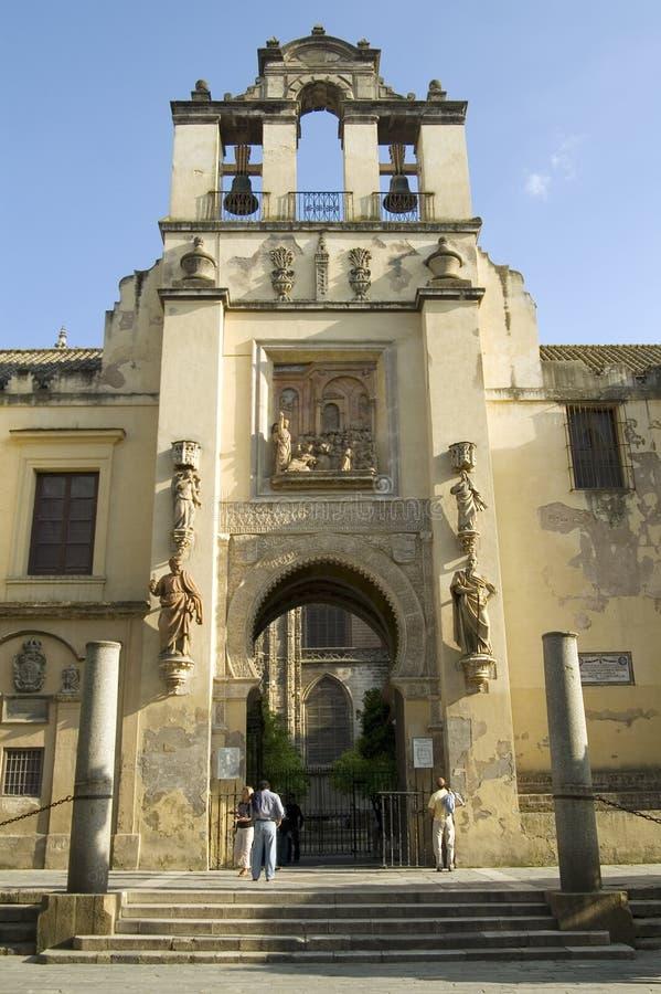 catedral塞维利亚 库存照片