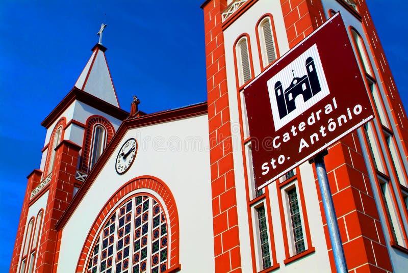 Catedral 03 del St. Anthony fotografía de archivo libre de regalías
