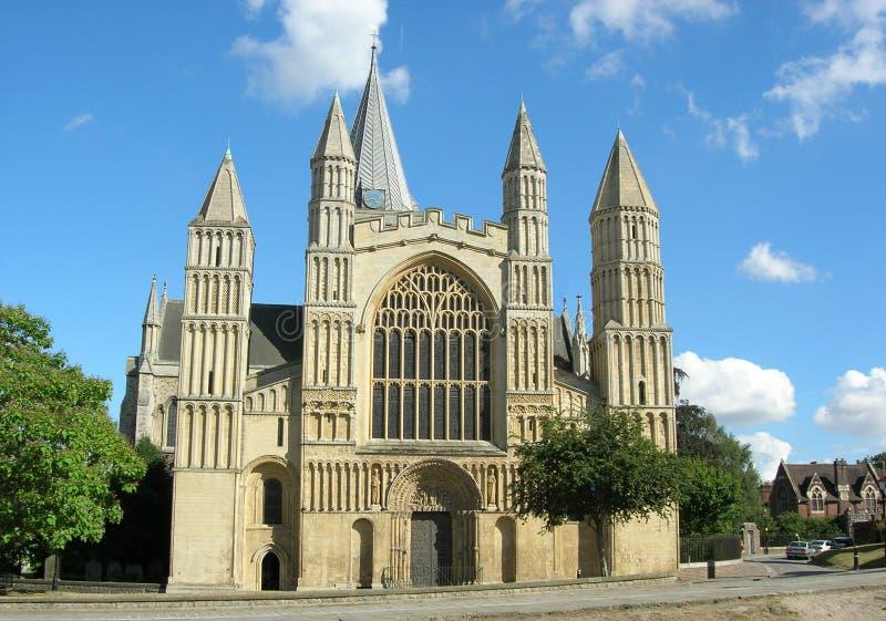 Catedral 2 de Rochester foto de archivo