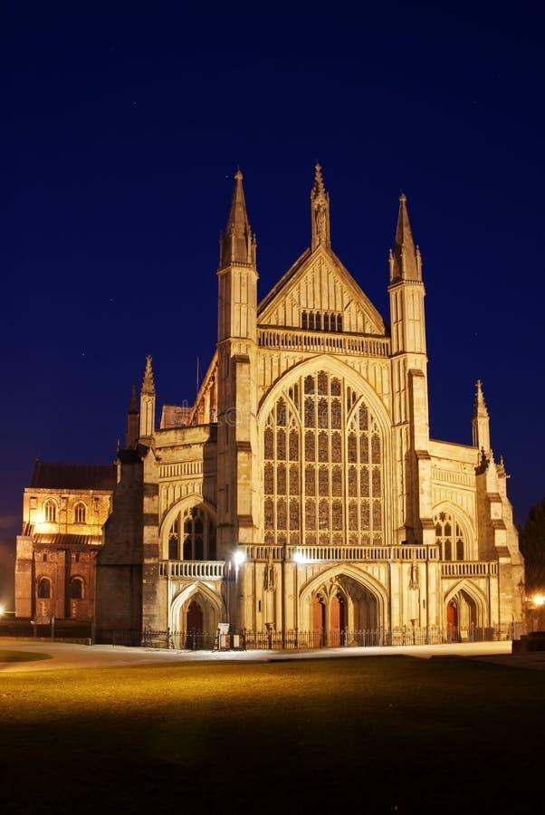 Catedral 2 de Winchester imagens de stock royalty free